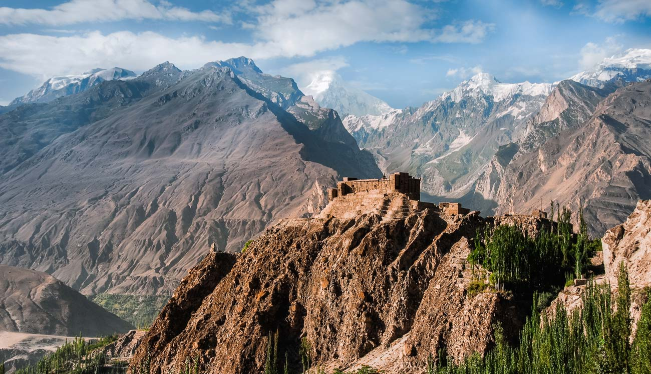 Baltit Fort, in the Hunza valley