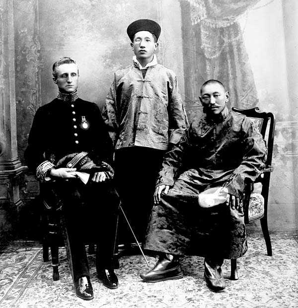Charles Bell, Political Officer in Sikkim, and the 13th Dalai Lama, 1910