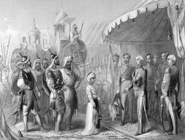 Submission at the Treaty of Lahore, 1846