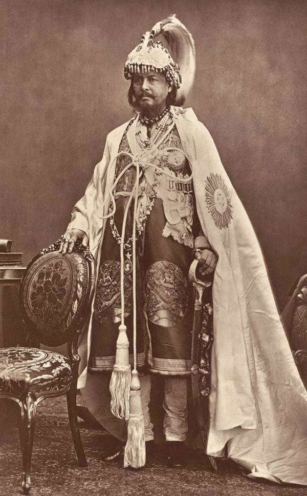 Jung Bahadur Rana, founder of the Rana dynasty, ca. 1850