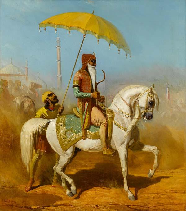 Ranjit Singh – 'Lion of the Punjab', 1838